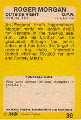 1968/69 Yellow back footballers