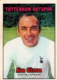 Alan Gilzean, the Scottish Football Blog