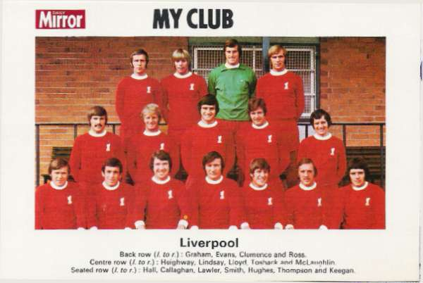 Daily mirror my club division 1 for Mirror liverpool