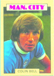 A&BC-FOOTBALL 1973 BLUE BACK-#003 RODNEY MARSH MANCHESTER CITY