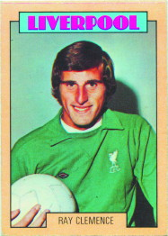 A/&BC-FOOTBALL 1973 BLUE BACK-#032 LIVERPOOL LARRY LLOYD